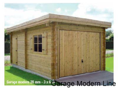 garage modern line abris de provence. Black Bedroom Furniture Sets. Home Design Ideas