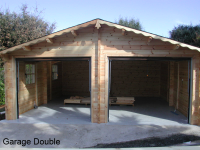 garage double abris de provence. Black Bedroom Furniture Sets. Home Design Ideas